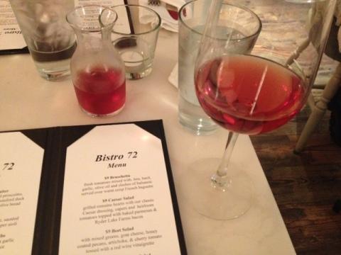 Road 13 Rose and my menu